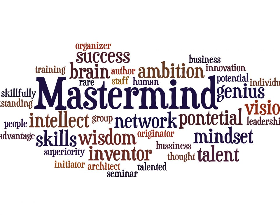Mastermind word cloud/Business/Coaching/Starting your Concierge Business/Growing a Concierge Business/Build a Personal Concierge Business/www.theconcieregeacademy.com