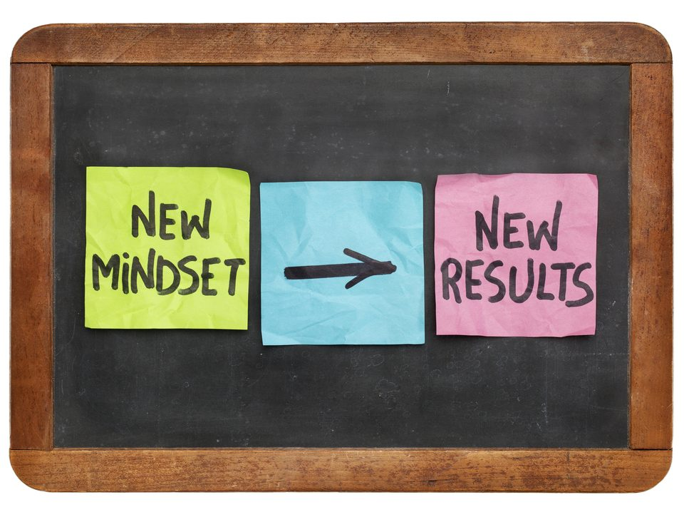 new mindset new results concept colorful sticky notes/starting a concierge business/Build a Personal Concierge Business/How to grow a Concierge Business/www.theconcieregeacademy.com