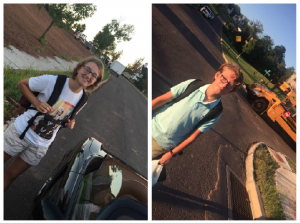 Emma and Jack first day of school 2018/theconciergeacademy.com