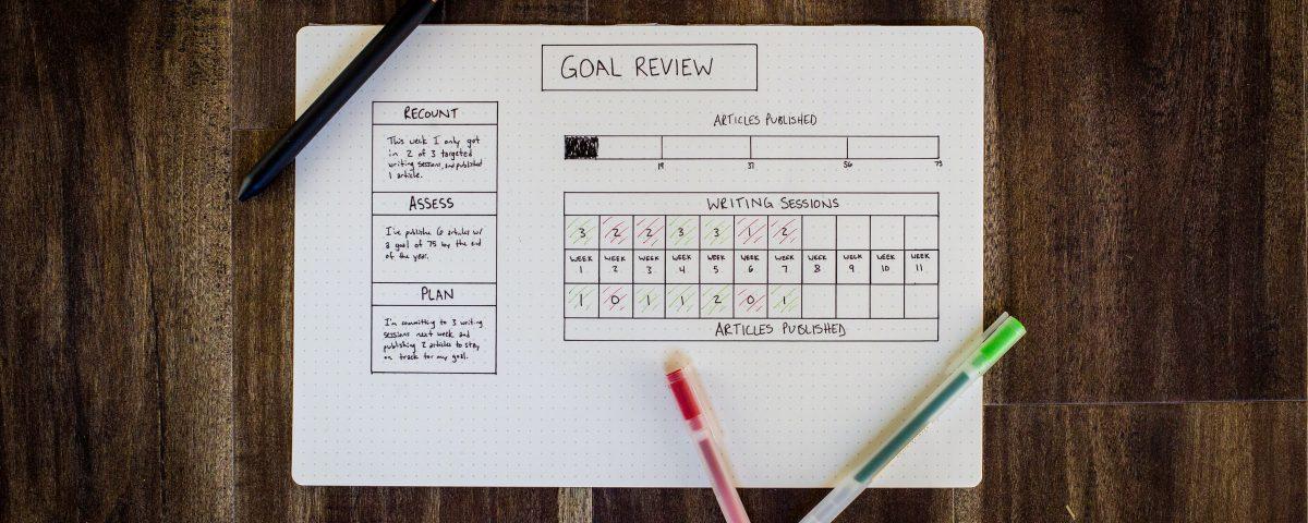 quarter goals, concierge business, get organized